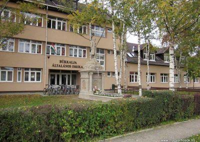 Bogács I. világháborús emlékmű felújítás után 2014.10.09. küldő-kalyhas