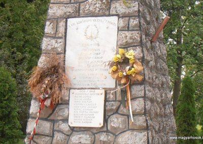 Bogádmindszent világháborús emlékmű 2013.05.11. küldő-Bagoly András (1)