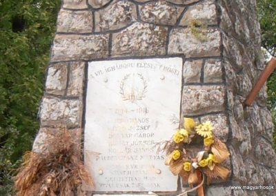Bogádmindszent világháborús emlékmű 2013.05.11. küldő-Bagoly András (2)