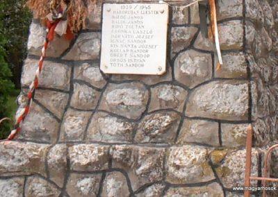 Bogádmindszent világháborús emlékmű 2013.05.11. küldő-Bagoly András (3)
