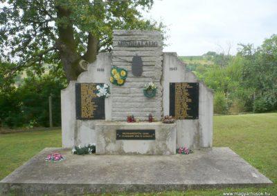 Boldogasszonyfa II.vh emlékmű 2010.08.04. küldő-Sümec
