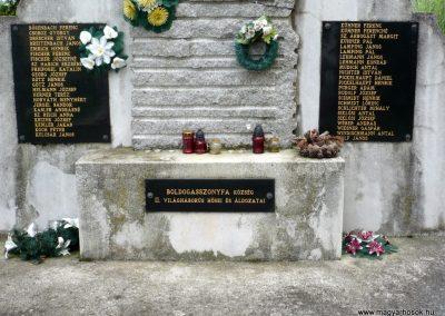 Boldogasszonyfa II.vh emlékmű 2010.08.04. küldő-Sümec (5)
