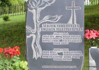 Boncodfölde világháborús emlékmű 2007.06.03. küldő-HunMi (2)