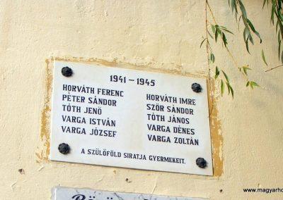 Borgáta világháborús emléktáblák 2012.10.08. küldő-Méri (4)