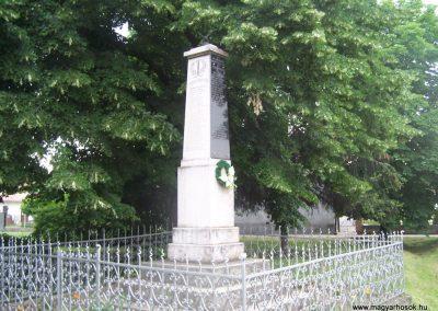 Borjád világháborús emlékmű 2009.06.01.küldő-Horváth Zsolt