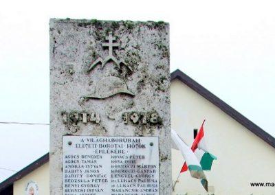 Borota I. világháborús emlékmű 2007.12.09. küldő-Markó Péter (1)