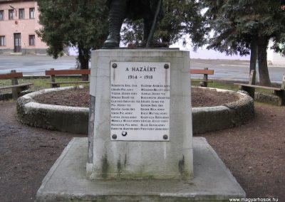 Borsodnádasd Világháborús emlékmű 2008.01.27.küldő-Kályhás (1)