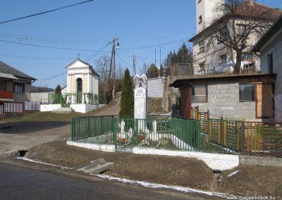 Borsodszentgyörgy világháborús emlékmű 2010.03.08. küldő-kalyhas