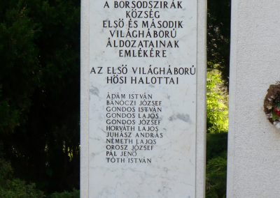 Borsodszirák világháborús emlékmű 2009.05.11.küldő-Gombóc Arthur (1)