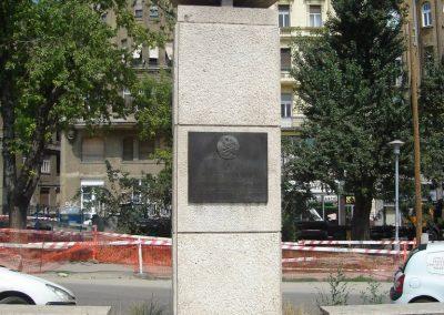 Budapest V ker Fõvám tér:I világháborús emlékmû