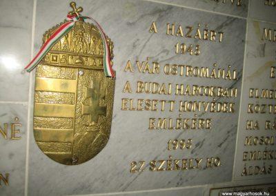 Bp.XI. ker Szent Gellért templom II. világháborús hősök emléktáblái 2008.11.19. küldő-Tiberio (5)
