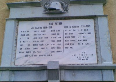 Bp.XI.ker Corvinus Egyetem világháborús emléktábla 2009.12.28. küldő-Huszár Peti (2)