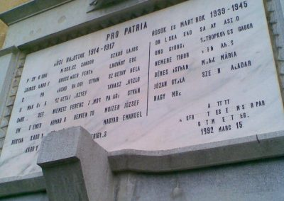 Bp.XI.ker Corvinus Egyetem világháborús emléktábla 2009.12.28. küldő-Huszár Peti (3)
