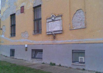 Bp.XI.ker Corvinus Egyetem világháborús emléktábla 2009.12.28. küldő-Huszár Peti