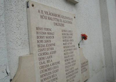 Bp.XI.ker.Kelenvölgy II.vh emléktábla 2008.05.21.küldő-Huszár Peti