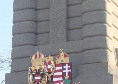 Bruck an der Leitha - Ausztria I. világháborús emlékmű 2009.12.28. küldő- Nelli (2)