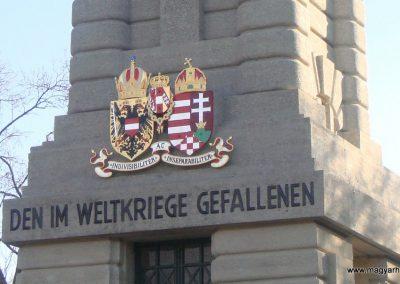 Bruck an der Leitha - Ausztria I. világháborús emlékmű 2009.12.28. küldő- Nelli (3)