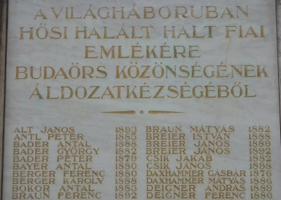 Budaörs- I.vh emlékmű 2008.04.04. küldő-Huszár Peti (3)