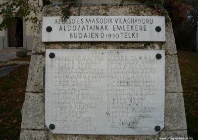 Budajenő-Telki világháborús emlékmű 2009.11.01. küldő-Ágca (2)