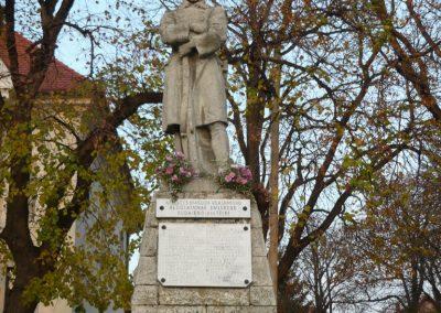 Budajenő-Telki világháborús emlékmű 2009.11.01. küldő-Ágca