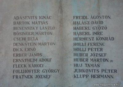 Budakalász I.vh emlékmű 2008.04.03.küldő Huszár Peti (2)