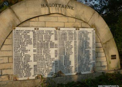 Budakeszi II.vh emlékmű 2009.11.01. küldő-Ágca (4)