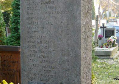 Budakeszi világháborús emlékmű és katonasírok 2009.11.01. küldő-Ágca (5)