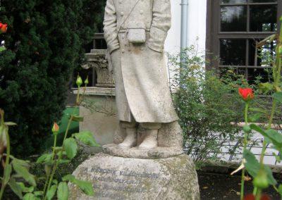 Budapest I. kerület a Hadtörténeti Múzeum Díszudvara - II. világháborús Hadifogoly emlékmű 2018.06.28. küldő-Emese (2)