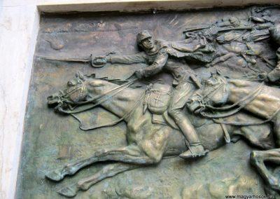 Budapest I. kerület a Hadtörténeti múzeum Díszudvara a Hősök emléktábláival 2018.06.28. küldő-Emese (1)