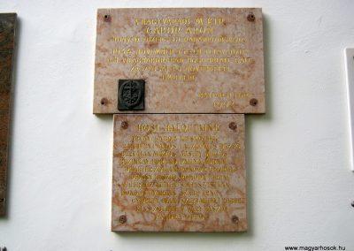 Budapest I. kerület a Hadtörténeti múzeum Díszudvara a Hősök emléktábláival 2018.06.28. küldő-Emese (15)