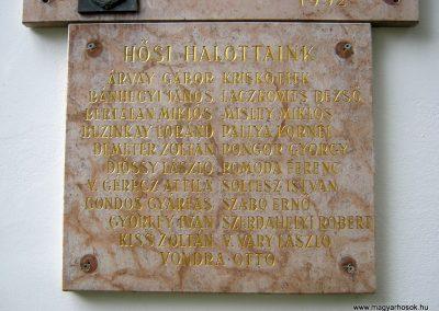 Budapest I. kerület a Hadtörténeti múzeum Díszudvara a Hősök emléktábláival 2018.06.28. küldő-Emese (18)
