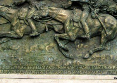 Budapest I. kerület a Hadtörténeti múzeum Díszudvara a Hősök emléktábláival 2018.06.28. küldő-Emese (3)
