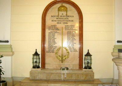 Budapest V. kerület Bolyai Reáliskola I. világháborús emlékmű 2018.06.29. küldő-Emese (1)