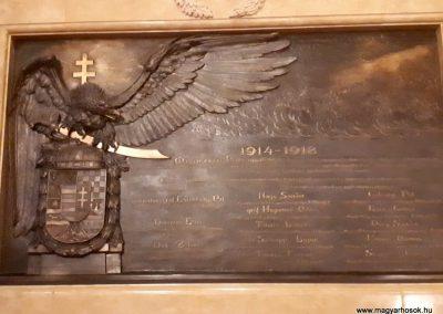 Budapest V. kerület Országház I. világháborús emléktábla 2018.07.15. küldő-Huszár Péter (1)