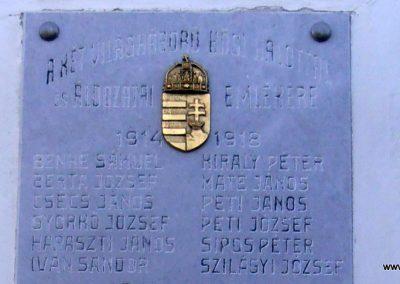 Cún világháborús emléktábla 2018.04.22. küldő-Bagoly András (3)