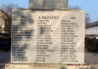 Ceglédbercel I. világháborús emlékmű 2015.02.19. küldő-kalyhas (3)