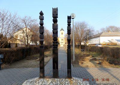 Ceglédbercel II. világháborús emlékmű 2015.02.19. küldő-kalyhas