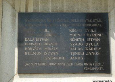 Celldömölk-Izsákfa világháborús emléktáblák 2009.07.01.küldő-Sümec (3)