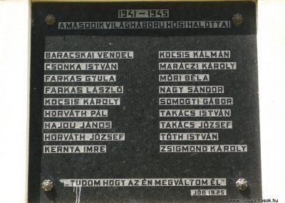 Celldömölk-Izsákfa világháborús emléktáblák 2009.07.01.küldő-Sümec (6)