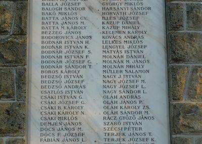Cigánd Hősi emlékmű 2009.01.03. küldő-Ágca (3)