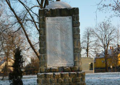 Cigánd Hősi emlékmű 2009.01.03. küldő-Ágca