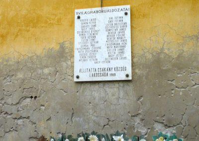Csákány világháborús emléktáblák 2013.04.12. küldő-Sümec (5)