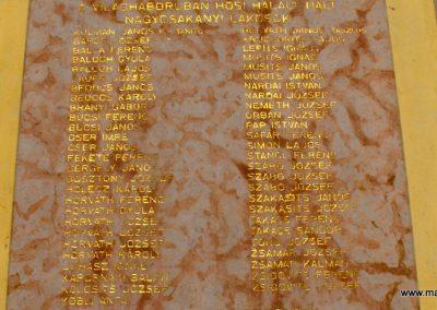 Csákánydoroszló világháborús emléktáblák 2012.05.05. küldő-gyurkusz (3)