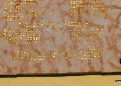 Csákánydoroszló világháborús emléktáblák 2012.05.05. küldő-gyurkusz (4)