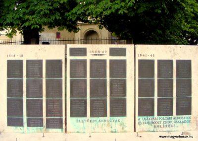 Csákvár, Hősi emlékmű