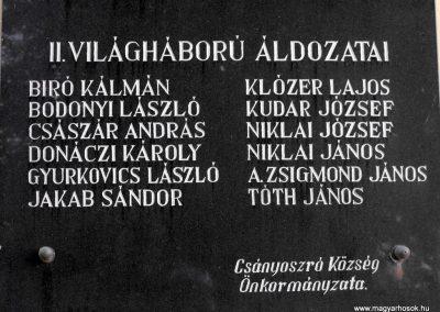 Csányoszró világháborús emléktábla 2012.08.01. küldő-KRySZ (4)