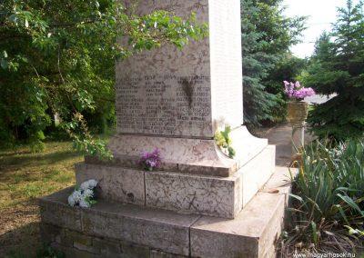 Csépa I.vh emlékmű 2009.05.14. küldő-miki (6)