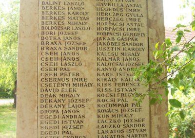 Csépa I.vh emlékmű 2009.05.14. küldő-miki (7)