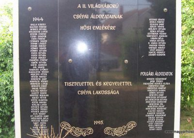 Csépa II.vh emlékmű 2009.05.14. küldő-miki (2)