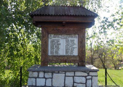 Csíkrákos és Göröcsfalva II. világháborús emlékmű 2018.04.29. küldő-Bóta Sándor (2)